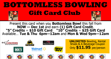 Bottomless Bowl Gift Card